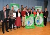 Wiederholte Auszeichnung zur Umweltschule in Europa